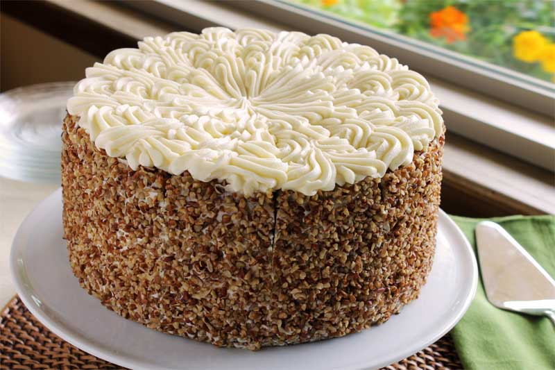 Carrot Cake with Cream Cheese Frosting | Suzy's Cream ...