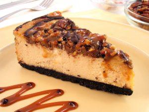 Suzy's Cheesecake - Chocolate Caramel Pecan Cheesecake