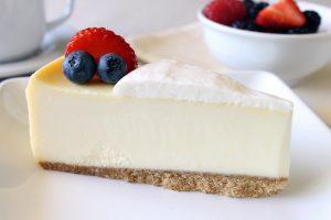 New York Slice With Sour Cream